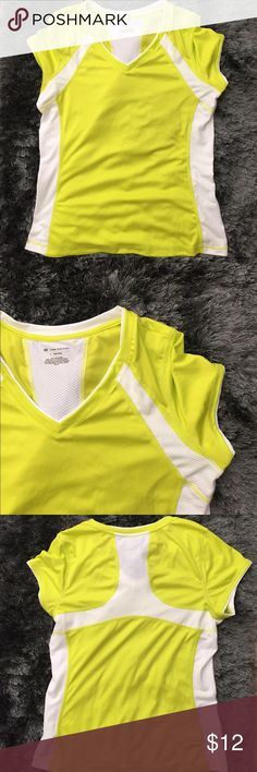 Dri Fit Top Lime Green Dri Fit Top. Great condition. Perfect for hiking, golfing etc. tek gear Tops Tees - Short Sleeve