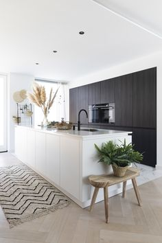 Sally's Kitchen, Design My Kitchen, Open Plan Kitchen Dining Living, Bungalow Kitchen, Interior Design Kitchen, Kitchen Modern, Minimalist Kitchen, Cuisines Design, Küchen Design