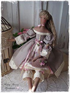 Tilda doll Primitive doll Tilda doll Flora Fabric doll