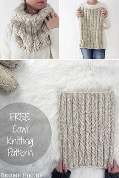 Knitting Stitches, Knitting Patterns Free, Knitting Needles, Knit Cowl Patterns, Ravelry Free Patterns, Knitted Headband Free Pattern, Designer Knitting Patterns, Knitting Machine, Hat Patterns