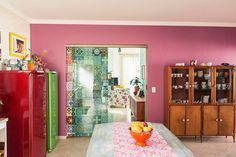 Na casa de Elis Gonçalves