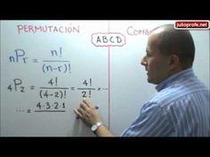 Diferencia entre Permutaciones y Combinaciones: Julio Rios explica con un ejemplo la diferencia que existe entre las Permutaciones y las Combinaciones