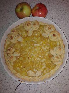 Linecký koláč s jablky