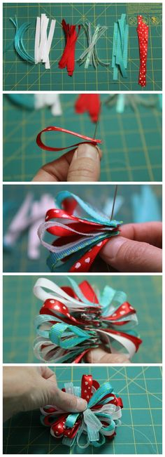 How to Make a Dr. Seuss- Inspired Loopy Bow