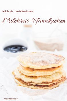 Rezept für leckere Milchreis-Pfannkuchen von herzelieb