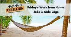 Work from Home Jobs & Extra Cash - Jan. 2020 - Work From Home Jobs by Rat Race Rebellion Legitimate Work From Home, Work From Home Jobs, Virtual Receptionist, Take Surveys, Looking For People, Job Posting, School Counselor, Customer Experience, Tv On The Radio