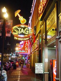 Nashville, TN - Want to go so badly! go to music row, hall of fame and listen to some good live singers, love country music and this would be amazing!