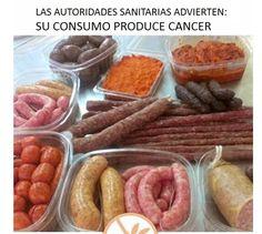 Mis Recetas Anticáncer: La OMS declara a la carne roja y el embutido como carcinógenos. Equipara a los embutidos con el tabaco o el amianto