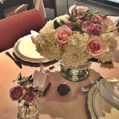 Centerpieces baby shower for girl By Ilomar Design