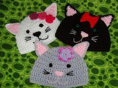 A whole litter of crochet kitties!
