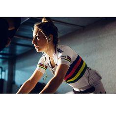 Pauline Ferrand Prevot in Calpe Spain for Liv Cycling. Credit jeffclarkphotographs via