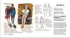 Siegfried Woldhek - Tekenen op vakantie. Les 3 3 D, Portrait, Memes, Drawings, Painting, Men Portrait, Painting Art, Portrait Illustration, Sketch