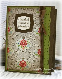 Enchanting Thanks by taylorsil - Cards and Paper Crafts at Splitcoaststampers