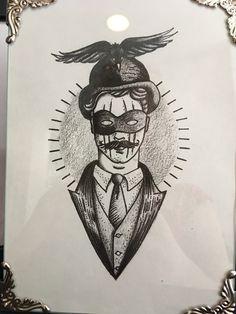 Ink Art, Joker, Batman, Superhero, Fictional Characters, Superheroes, The Joker, Fantasy Characters, Tattoo Art