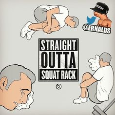 Straight Outta Squat Rack!!  #straightouttacompton #GAINS #Gymtime #Gym #DoYouEvenLift #Lifting #Gymlife #Weights #GymProblems #gymhumor #Gymmemes #SquatRack #squatter #girlsatthegym #GirlsThatLift #girlsthatsquat #datassthough #DatAss #yeahshesquats #Legday #Squats #FitFam #GymFlow