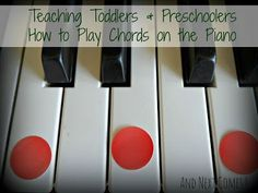 And Next Comes L: Teaching Toddlers & Preschoolers How to Play Chords on the Piano Piano Chords Chart. This should help when I play the keyboard. I know the chords, but what configuration to play often eludes me. Now ANYONE Can Learn Piano or Keyboard pianofora.blogspot.com