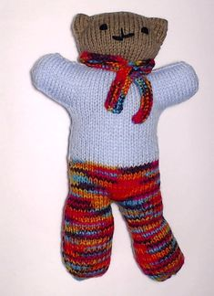Charity bear made by Blue Light Babies, UK, for yarndale.co.uk Crochet Bear, Charity, Bears, Light Blue, Teddy Bear, Community, Babies, Creative, Projects