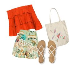 """Verão"" by thyta-patricia on Polyvore featuring Sans Souci"