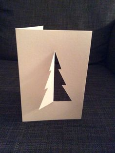 Minimalist Christmas card 2014