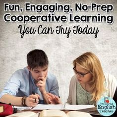 From Multiple-Choice to Cooperative Learning: A No-Prep Activity to Try Today! by The Daring English Teacher