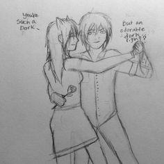 Young Shiori Cheshire and Mac Lear (RWBY OCs)