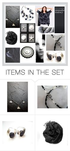 """B & W"" by rosa-shawls ❤ liked on Polyvore featuring art"