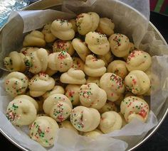 Italian Christmas Cookies - We called them 'knots' because my grandmother made them into the shape of a knot.