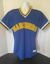 2f802a099 Rawlings Vtg Seattle Mariners Stitched Baseball Jersey 40 USA Made GUC for  age
