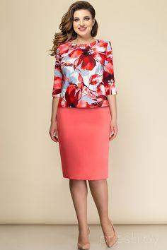 d2de4a9aef10 Комплект юбочный Elady 2397А-5 коралловые тона - Женская одежда