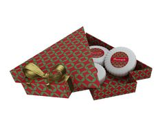 caixa para um sabonete modeleo de natal - Pesquisa Google