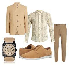 Untitled #5 by fashion-falcon on Polyvore featuring Gucci, Joseph, Brunello Cucinelli, Lacoste, Bell & Ross, men's fashion and menswear