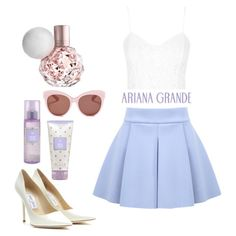 Ari by Ariana Grande ♡ Girly Outfits, Dress Outfits, Cute Outfits, Dresses, Teen Fashion, Fashion Outfits, Ariana Grande Outfits, Sassy, Valentines Outfits