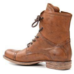 Combat boots - marron