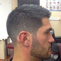 Mens Clipper Cut Short Hair