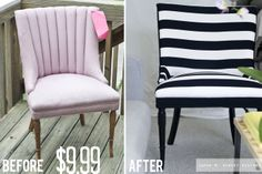 sarah m. dorsey designs: Black and White Chair | My Process + What NOT to do