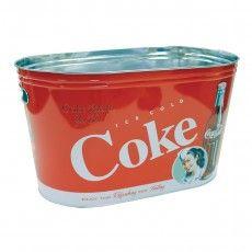 BALDE PARA GELO OVAL COCA ICE COLD