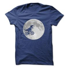 Dinosaur Bike and MOON T Shirts, Hoodies. Get it here ==► https://www.sunfrog.com/No-Category/Dinosaur-Bike-and-MOON-.html?57074 $23