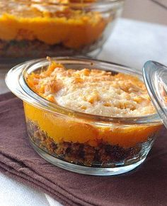 The Big Diabetes Lie- Recipes-Diet - Parmentier à la patate douce - Doctors at the International Council for Truth in Medicine are revealing the truth about diabetes that has been suppressed for over 21 years. Batch Cooking, Healthy Cooking, Cooking Time, Snack Recipes, Cooking Recipes, Healthy Recipes, Creative Food, Coco, Food Inspiration