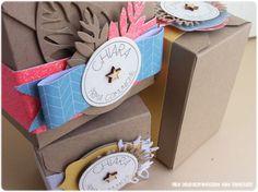 Le Creazioni di Kiara: piccole scatole per bomboniere - boxes for favors www.creazionidikiara.blogspot.it