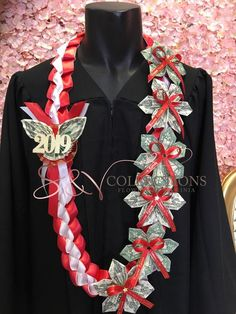 graduationcelebration graduationcel personalized graduation school money color leis with your Personalized graduation money leis with your school color Personalized graduation money leis withYou can find Leis and more on our website Money Lay For Graduation, Diy Graduation Gifts, Graduation Leis, Graduation Cap Decoration, Graduation Celebration, Graduation Parties, College Graduation, Graduation Photoshoot, Money Lei