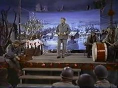 """White Christmas"" performed by Bing Crosby in the 1954 Technicolor musical film 'White Christmas'."