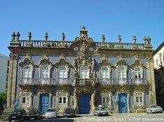 Palácio do Raio - Braga - Portugal | O Palácio do Raio é um … | Flickr Braga Portugal, Mansions, House Styles, Home, Decor, 18th Century, City, Monuments, Houses