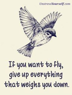 Do you want to fly? http://www.unstressyourself.com/