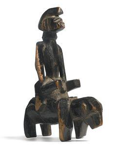 Senufo Equestrian Figure, Ivory Coast | lot | Sotheby's