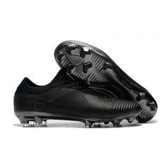 Crampon Nike Foot 2017 Nike Mercurial Vapor Flyknit Ultra FG Noir pas cher cdbd138adeda1