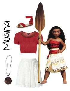 Disney Bounding Moana inspired look! Shop the Wood Flower Pendant Necklace Here ! Disney Character Outfits, Cute Disney Outfits, Disney Dress Up, Character Inspired Outfits, Girl Outfits, Cute Outfits, Fashion Outfits, Disney Clothes, Moana Costume Diy