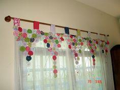 Curtains - Suffolk Puff Patchwork