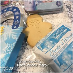 Sugar Cookie Favor Contents