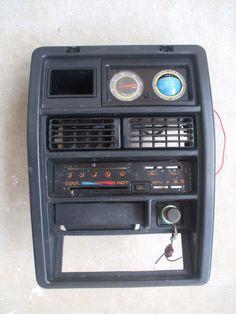 Suzuki Samurai Altimeter Inclinometer Center Console Free Fog Light Switch | eBay