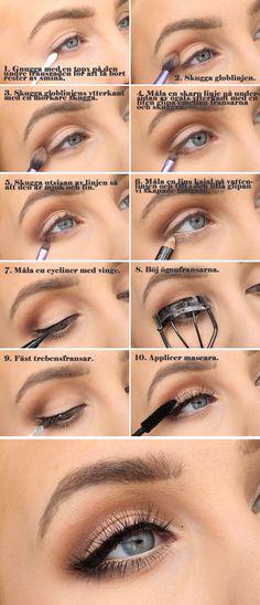 Dagens makeup  Sommarsminkning fr studenten   tutorial | Helen Torsgrden  Hiilens sminkblogg
